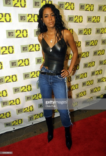 Aaliyah during MTV 20th anneversery 8-1-2001 at MTV 20th Anniversary in New York, NY, United States. (Photo by Chris Polk/FilmMagic)